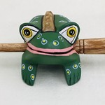 Green Spotted Frog Instrument