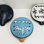 Inca Ceramic Ocarina Flute (Large)