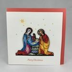 Quilling Card Quilling Card Nativity Scene, Vietnam