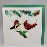 Quilling Card Quilling Card Holiday Bird Ornaments, Vietnam