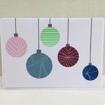 Retro Ornament Greeting Card