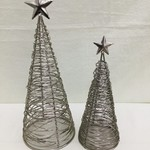 Mira Fair Trade Wrapped Wire Tree Small, India