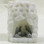 Alabaster Stone Nativity Medium, Peru