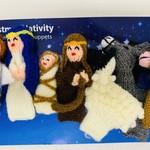 Nativity Finger Puppet Set, Peru