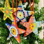 Ceramic Star Ornament, Central America