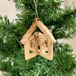 Global Crafts Olive Wood 3D Nativity, West Bank