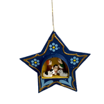 Tiny Retablo Star Ornament, Peru