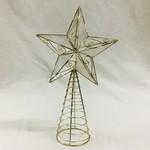 Gold Capiz Star Tree topper