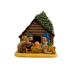 Log Cabin Nativity, Peru