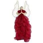 Red Abaca Sinamay Angel (Large)