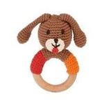 Pebble Dog Wooden Teething Ring, Bangladesh