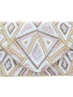 Jane Marie Pink Diamond Sequin Purse