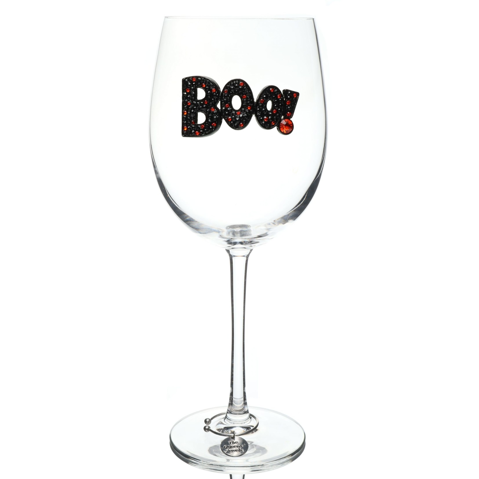 The Queen's Jewels Boo Stemmed Wine Glass