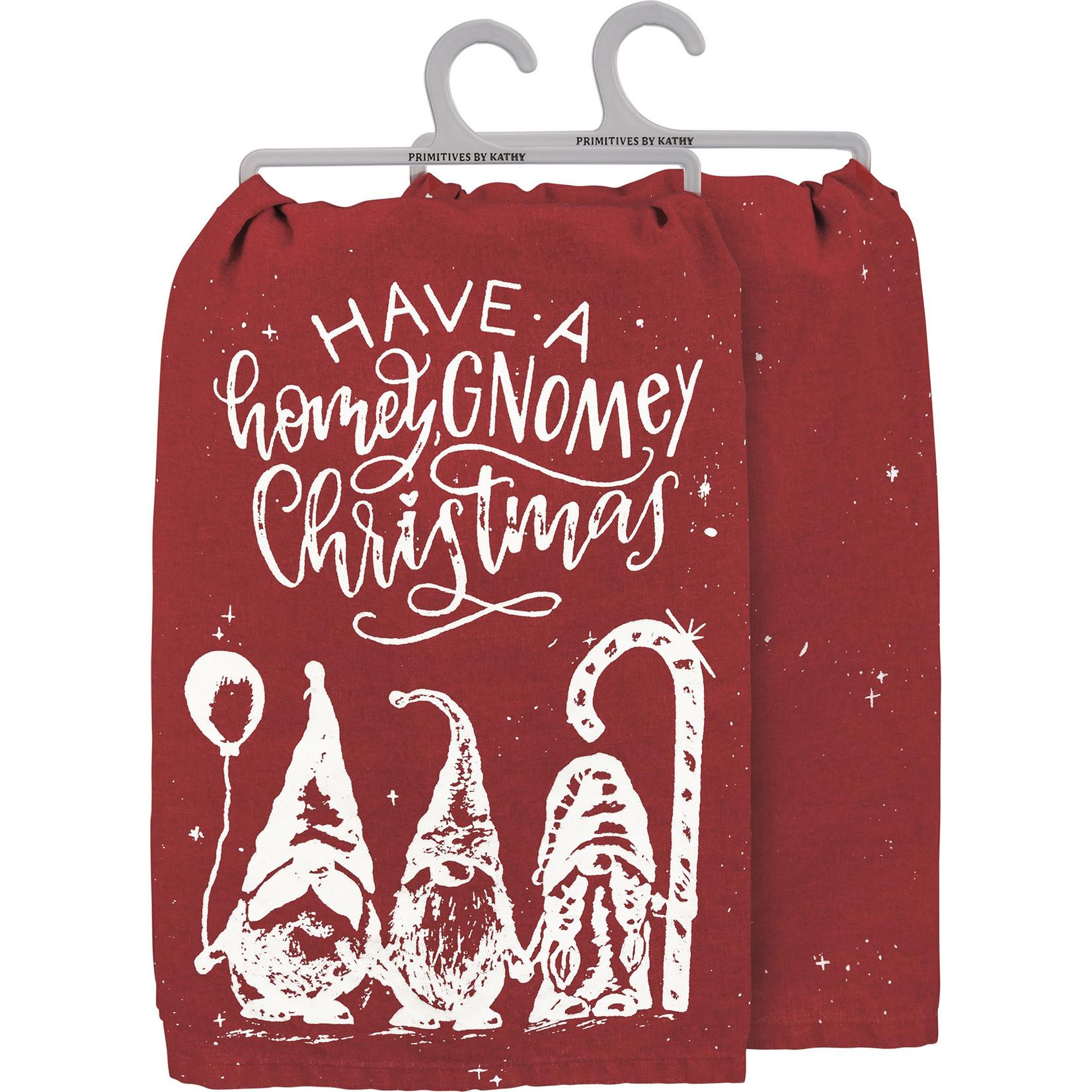 Dish Towel - Have A Homey Gnomey Christmas