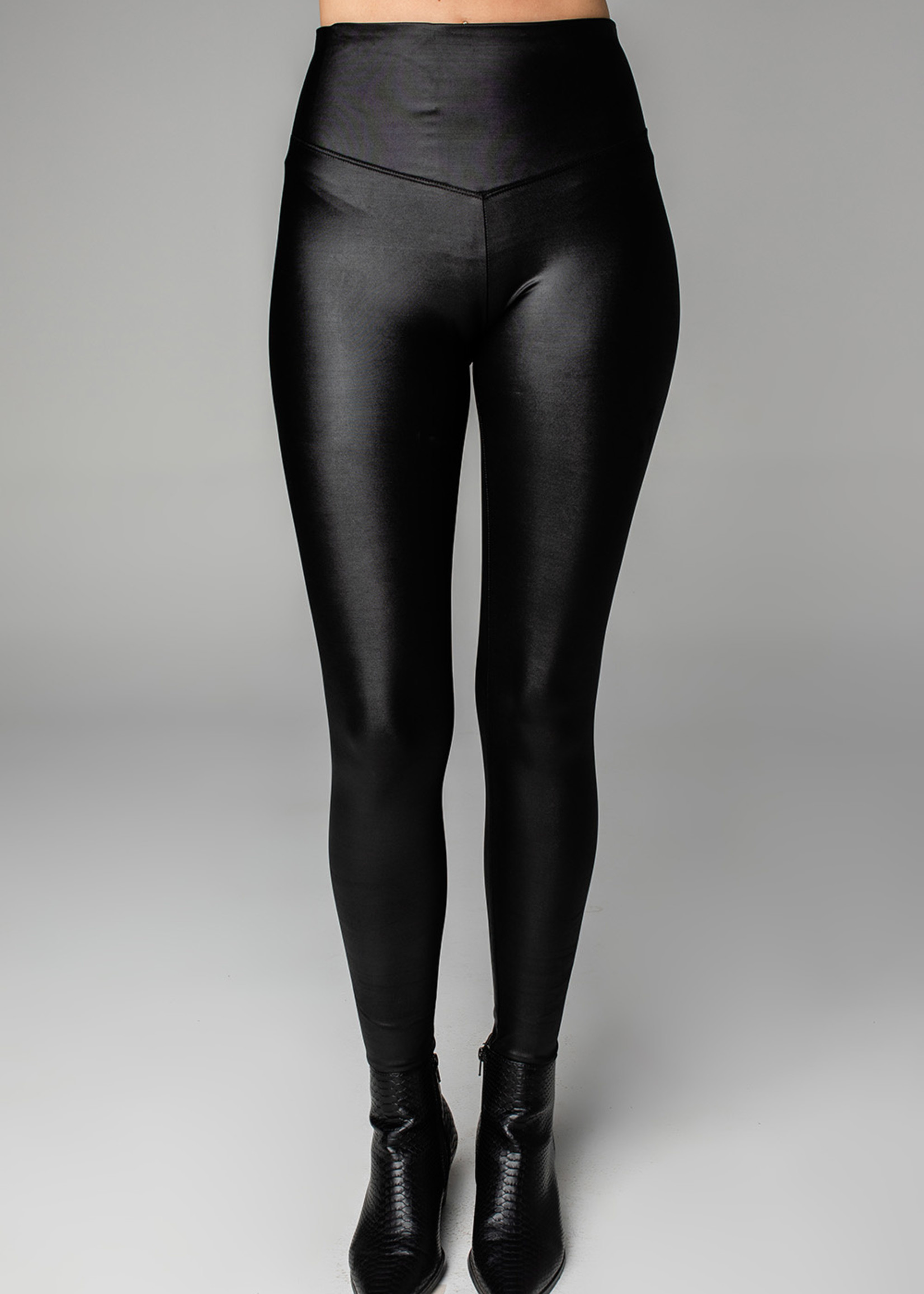 Buddy Love Jillian Black Faux Leather Pants