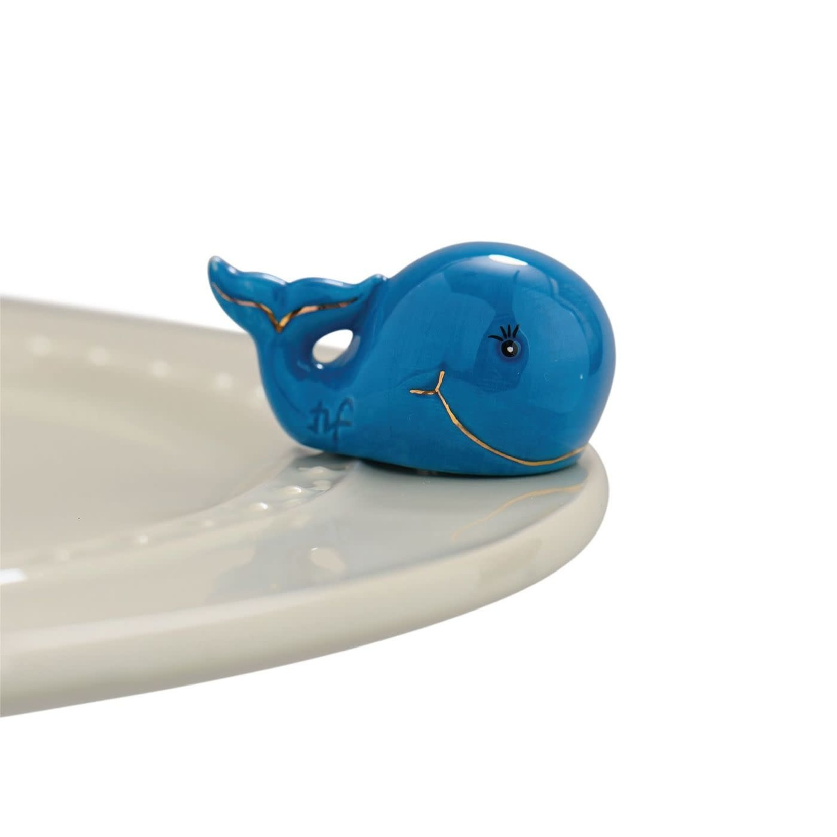 Nora Fleming Serveware WHALE, HELLO THERE! ST. JUDE