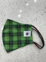 Pomchies Evergreen Plaid Pom Mask