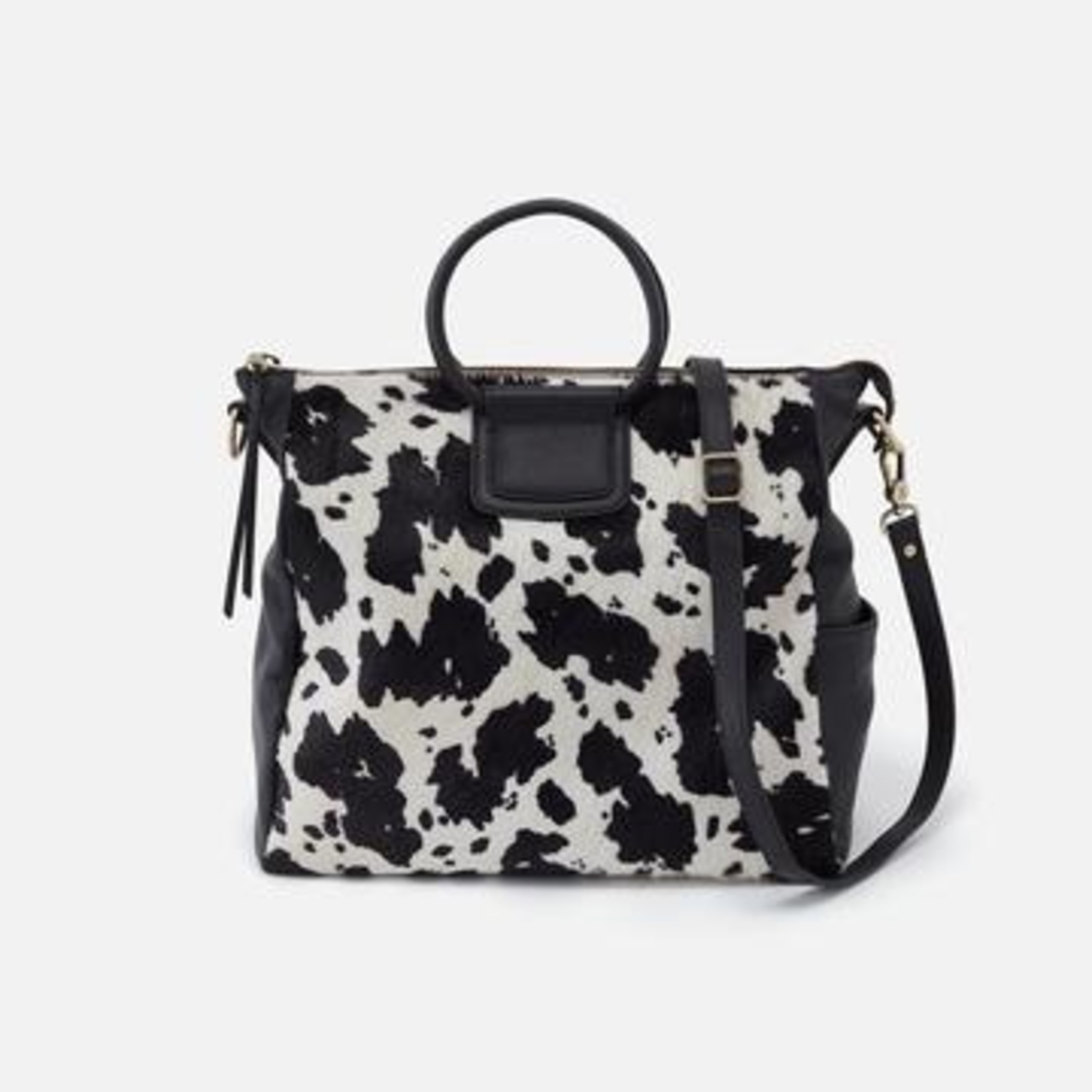 HOBO Bags Sheila Large Satchel Cow Print