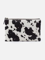 HOBO Bags Take Large Travel Pouch Cow Print