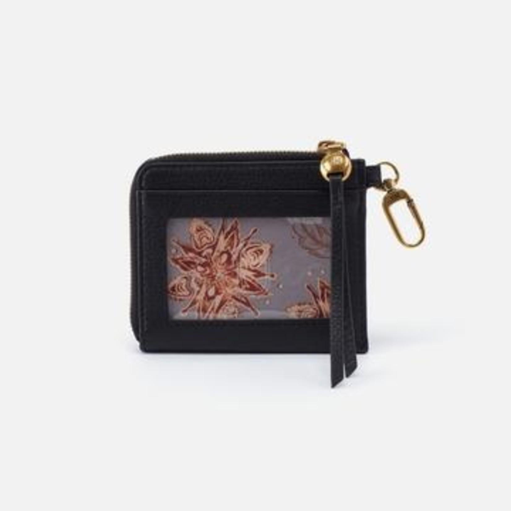 HOBO Bags Flip Go Clip Wallet Black