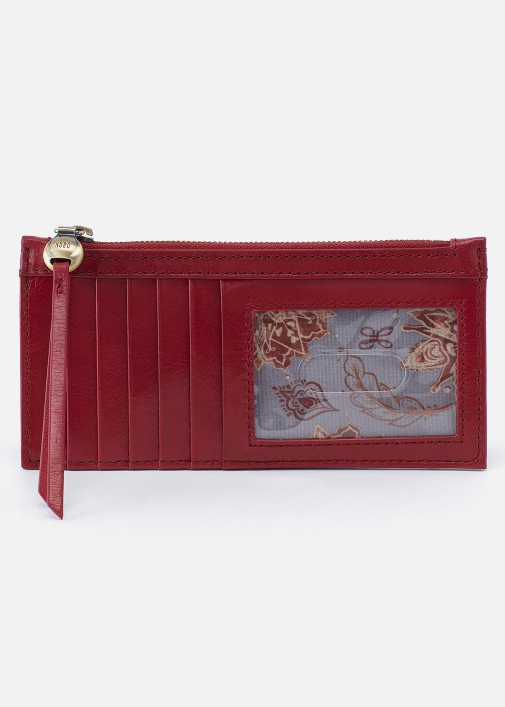 HOBO Bags Carte Card Case Cardinal