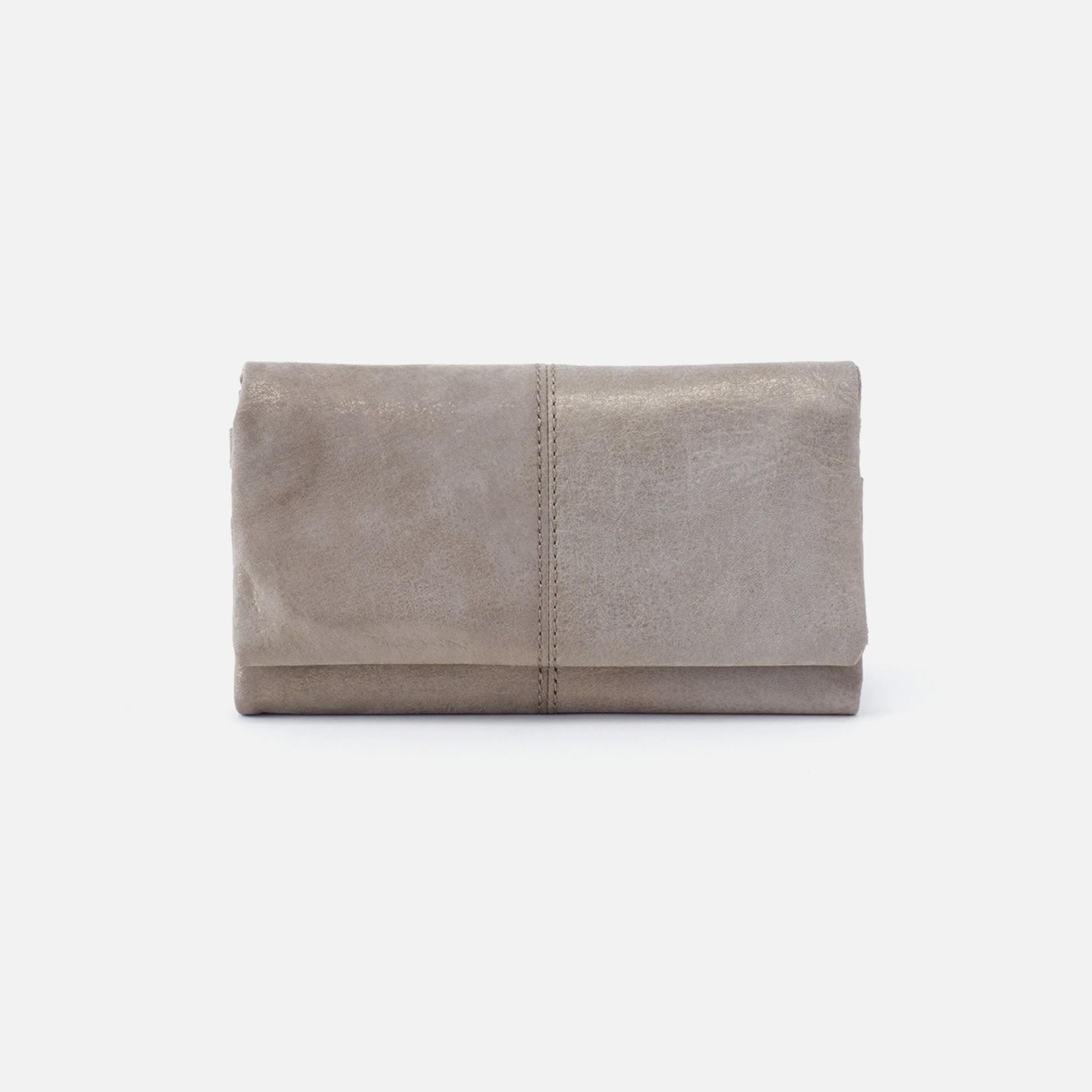 HOBO Bags Keen Wallet Granite Gold