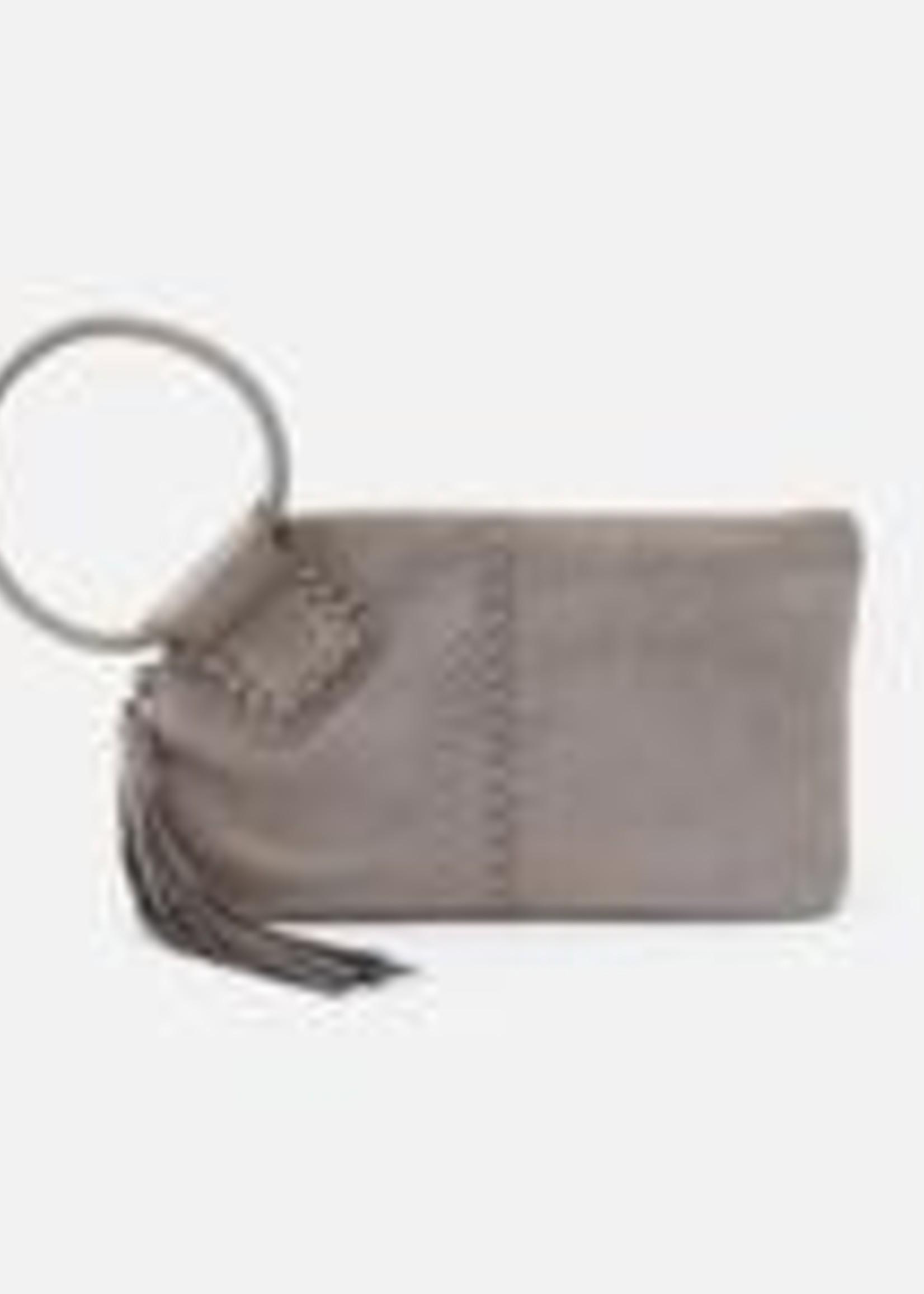HOBO Bags Sable Wristlet Granite Gold