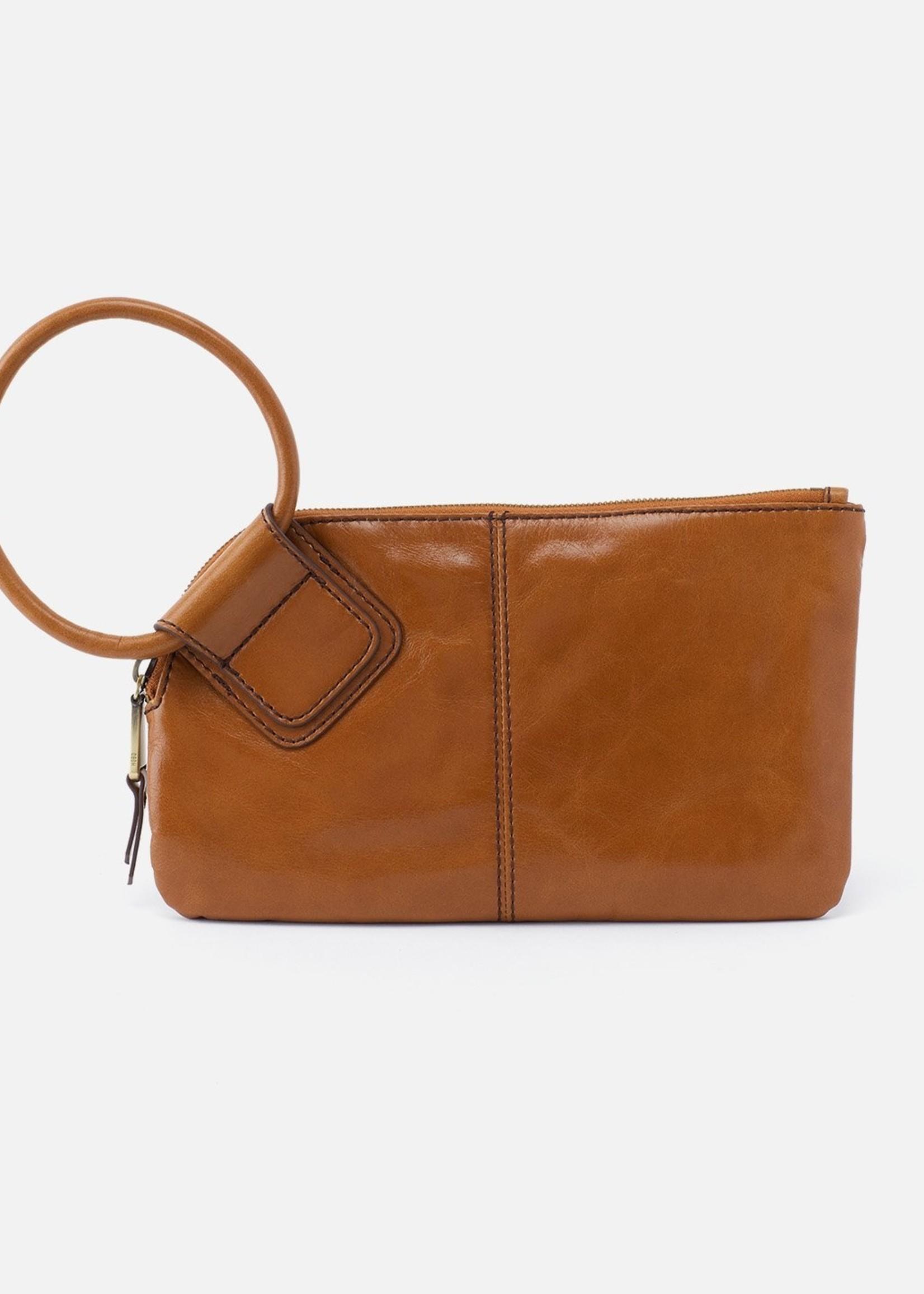 HOBO Bags Sable Wristlet Truffle