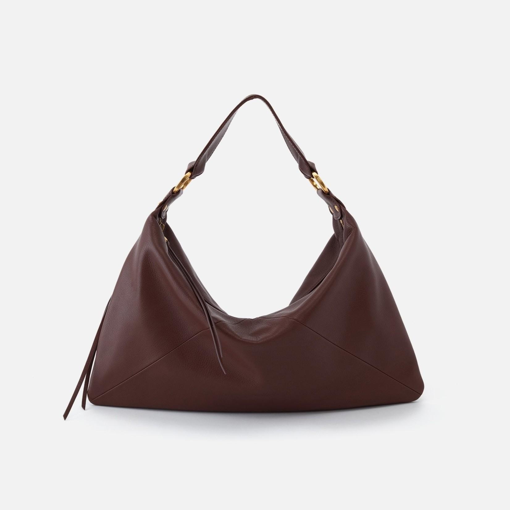 Paulette Shoulder Bag Mahogany