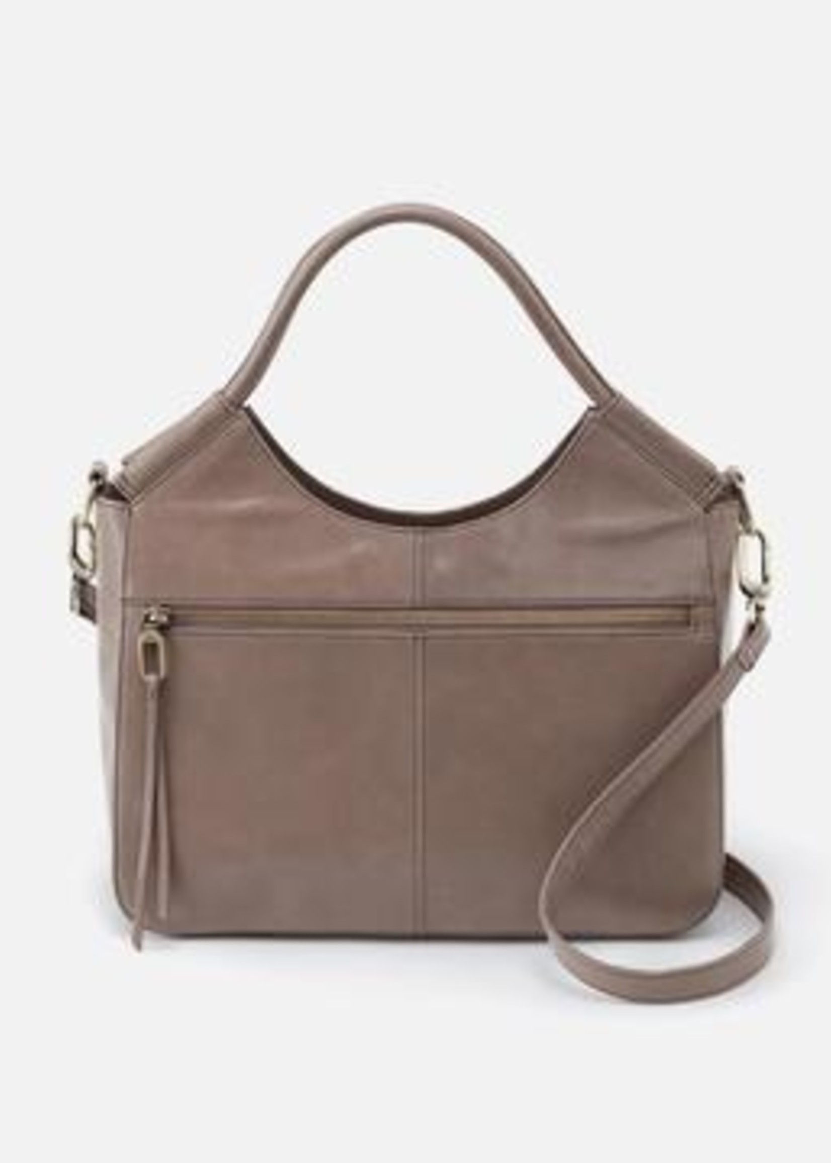 HOBO Bags Handle Large Satchel Ash