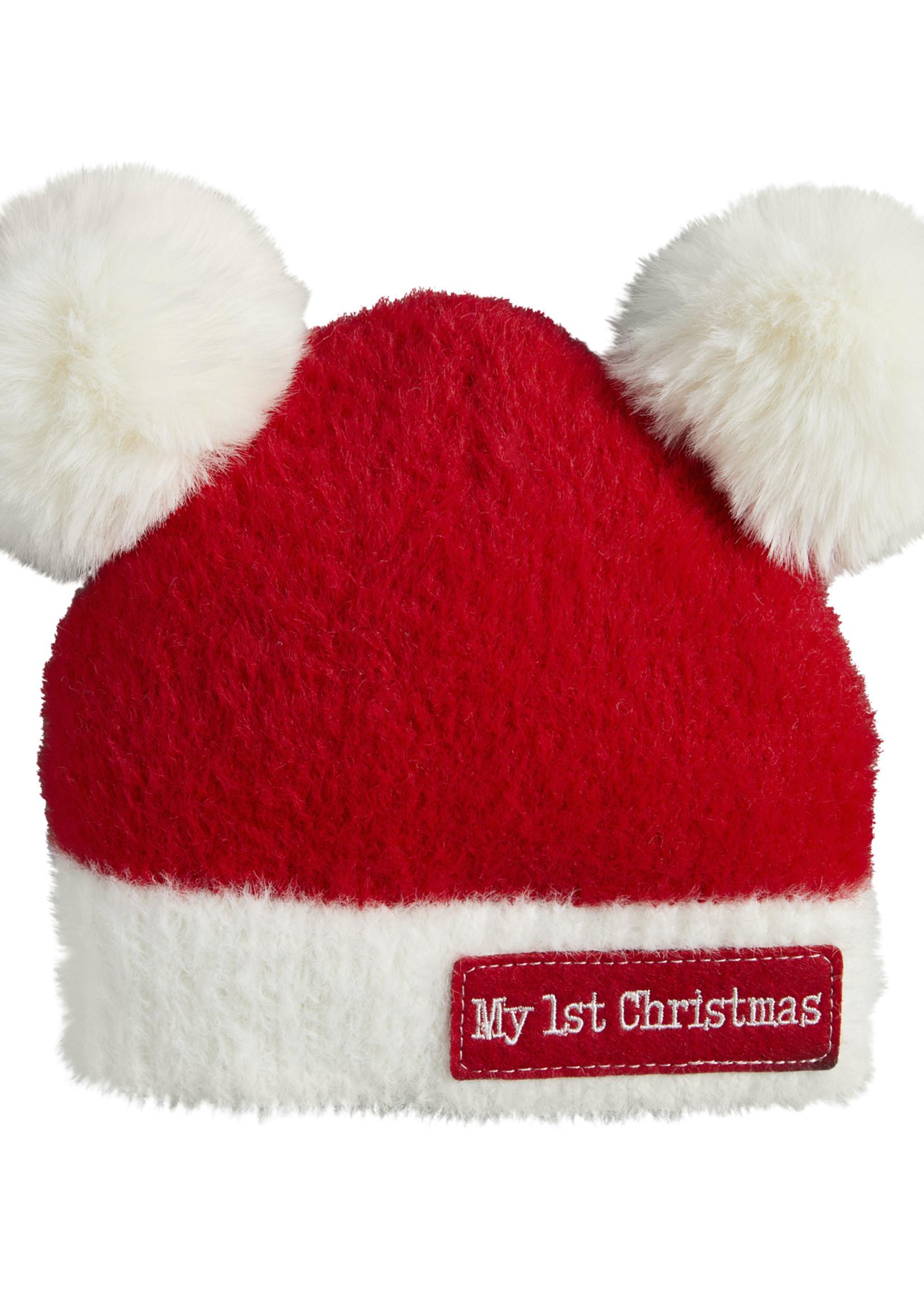 Mudpie POM POM CHRISTMAS HAT