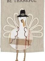 Mudpie Eat Turkey Dangle Leg Towel