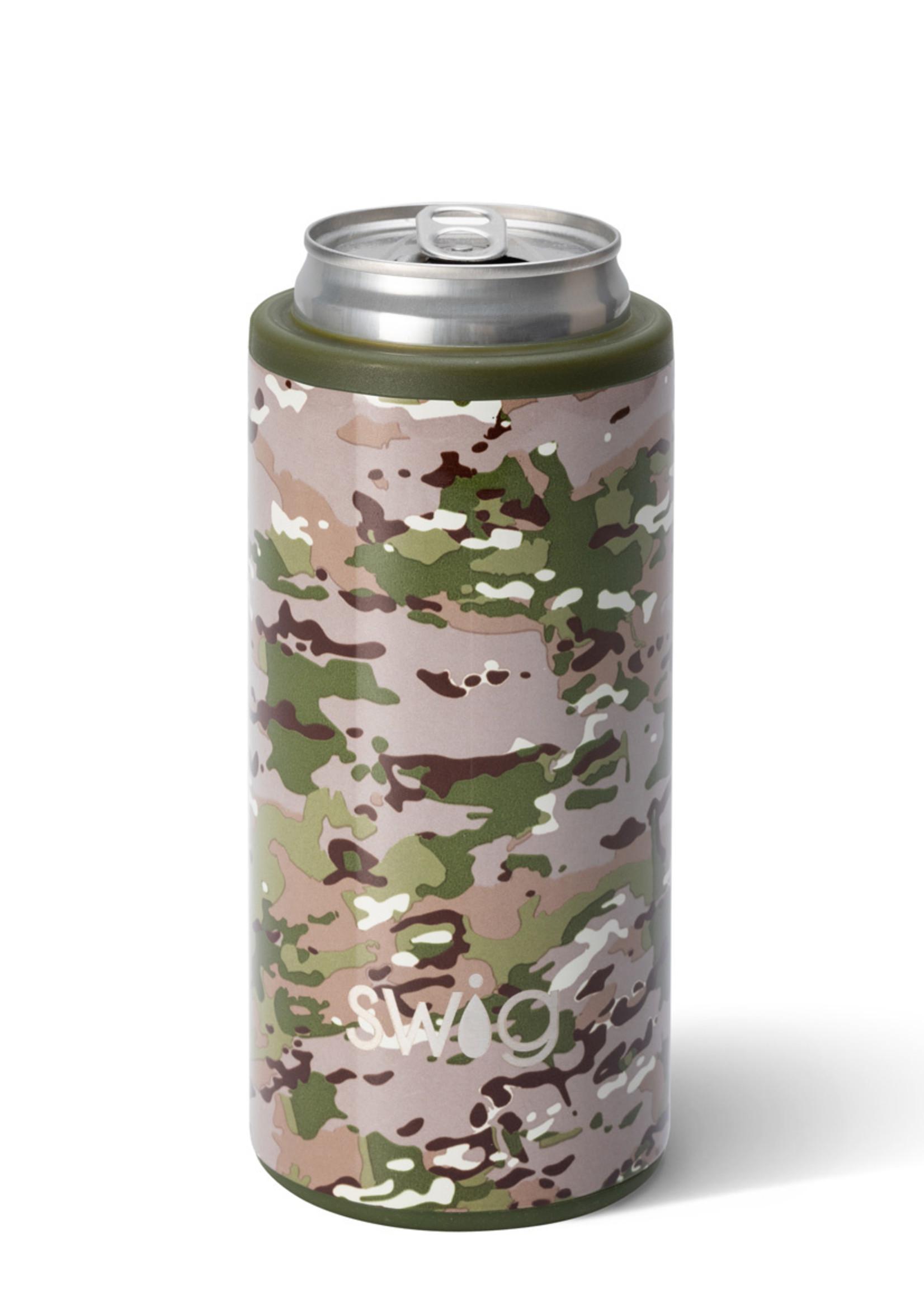 Swig Duty Calls Skinny Can Cooler 12oz