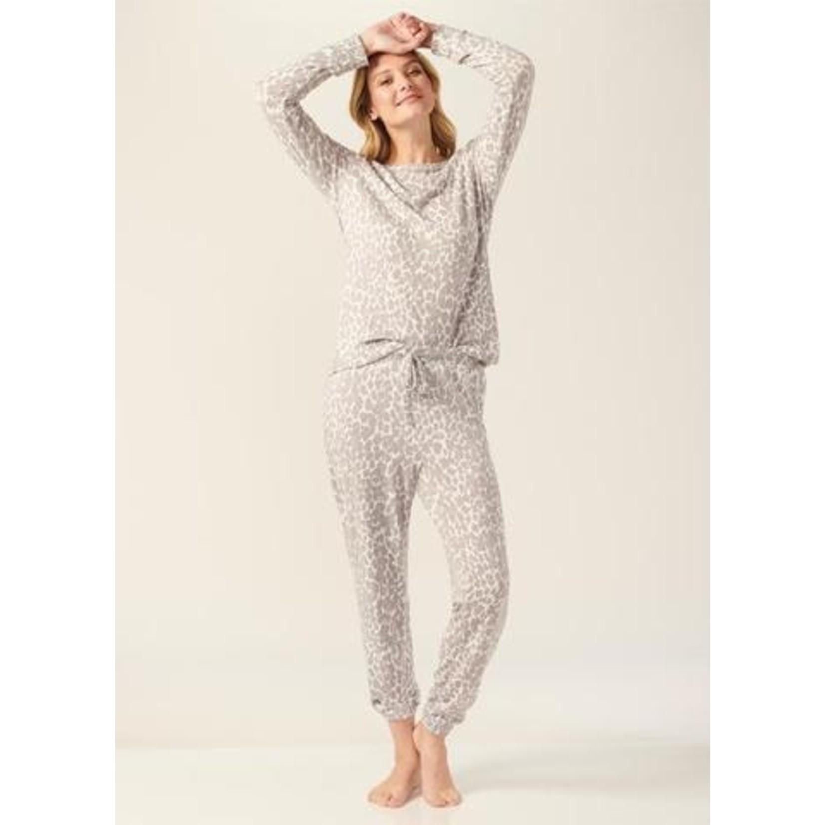Gift Craft Leopard Pajama Top