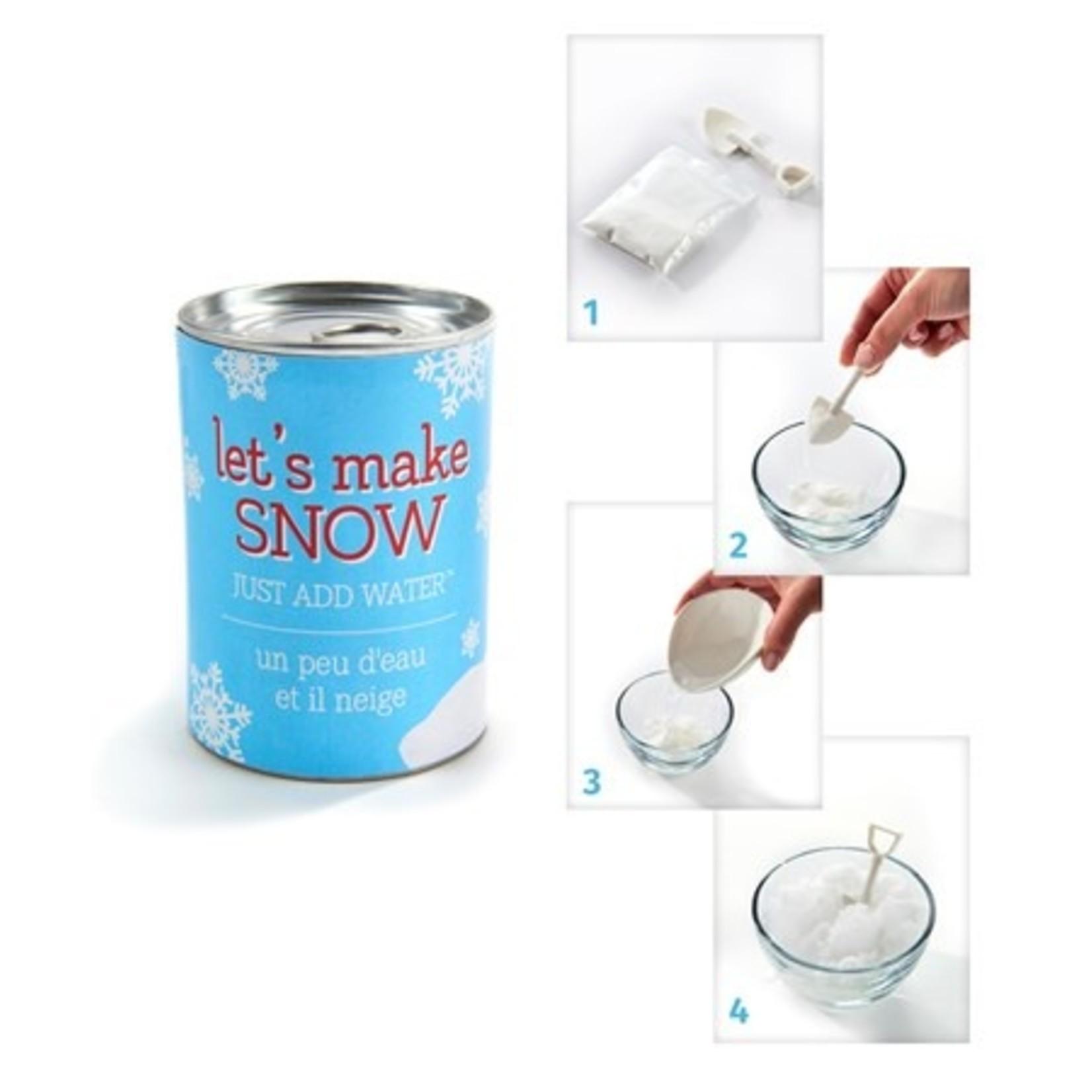 Gift Craft Let's Make Snow!!