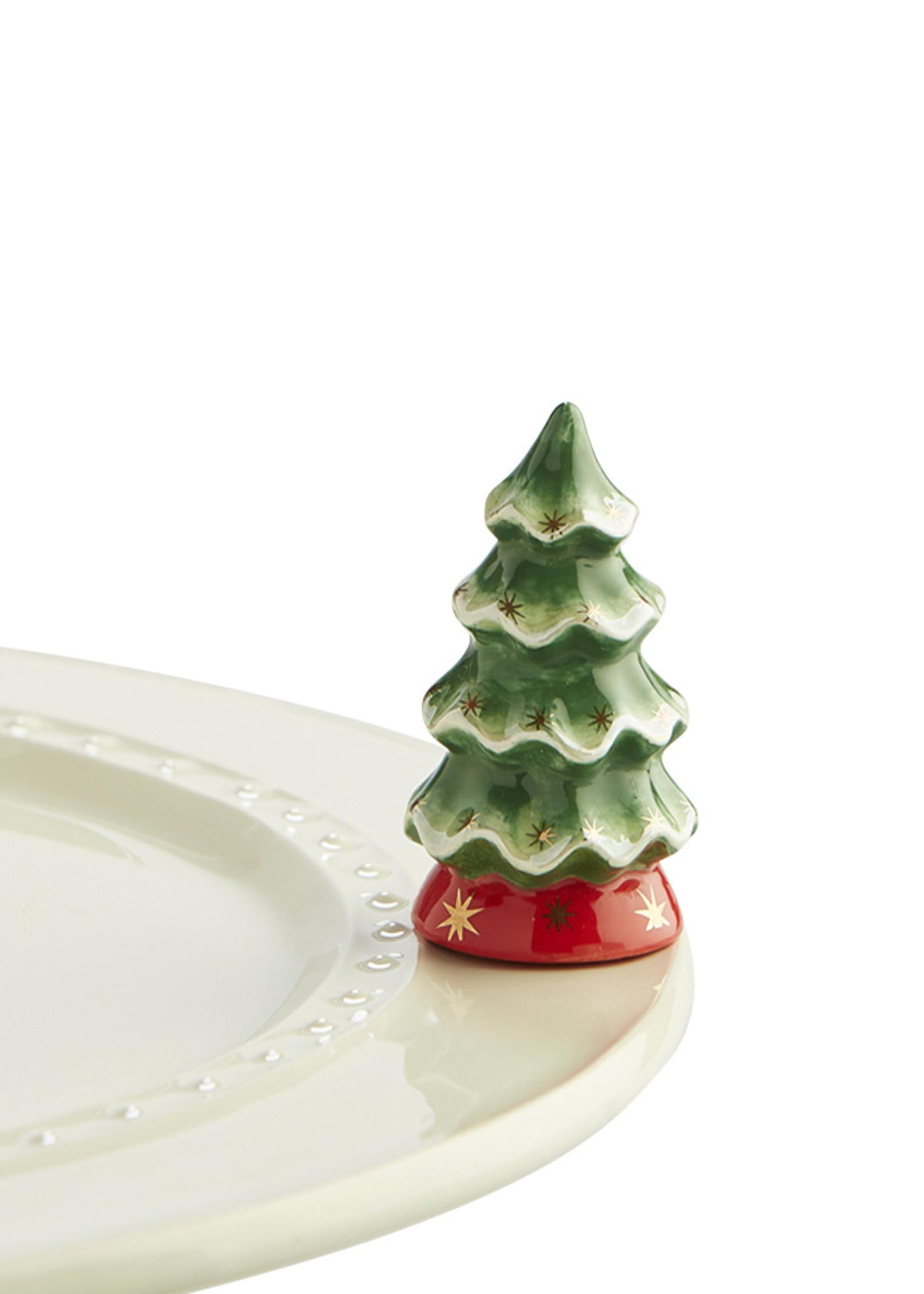Nora Fleming Serveware O'TANNENBAUM~CHRISTMAS TREE