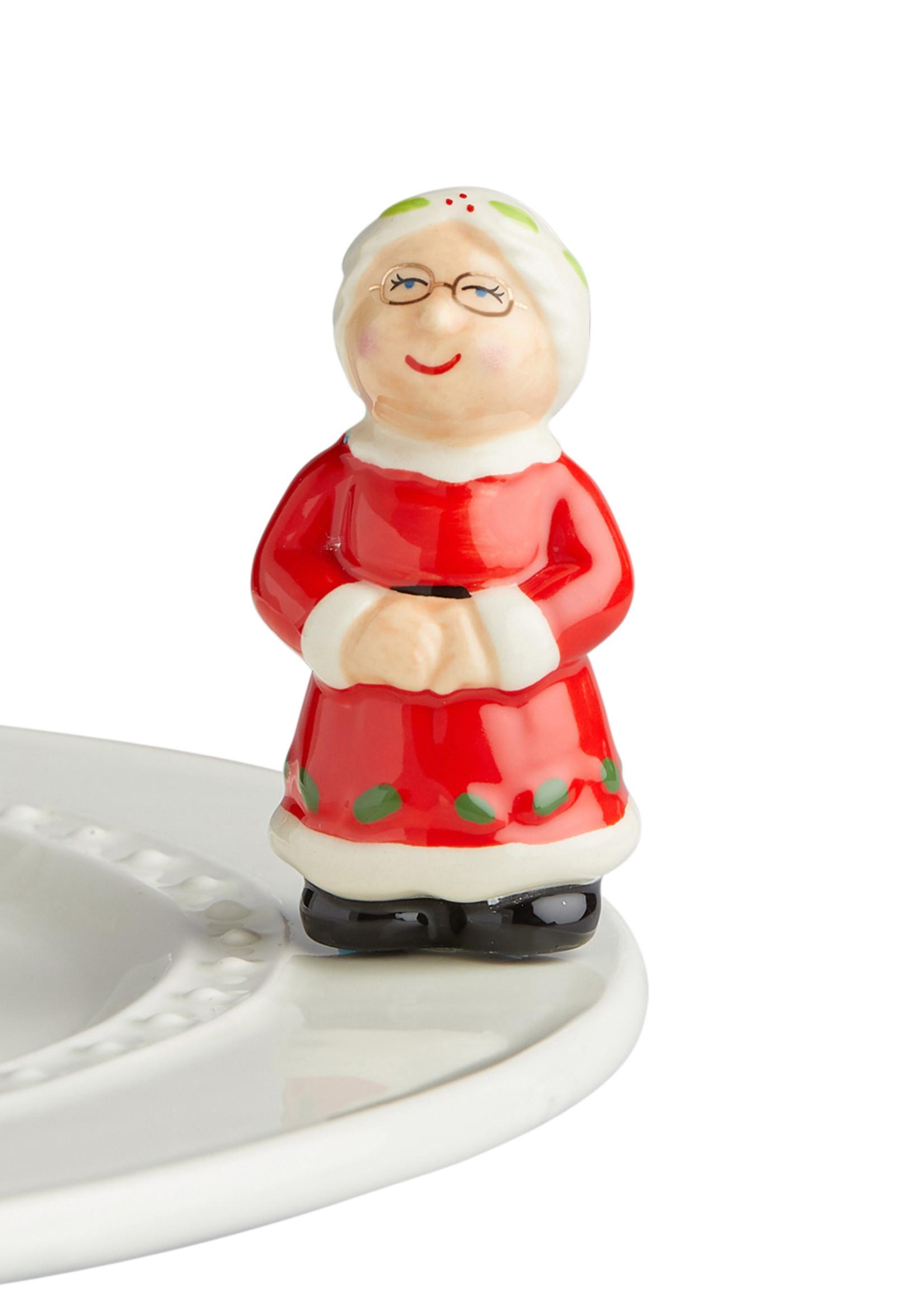 Nora Fleming Serveware Mrs. Claus