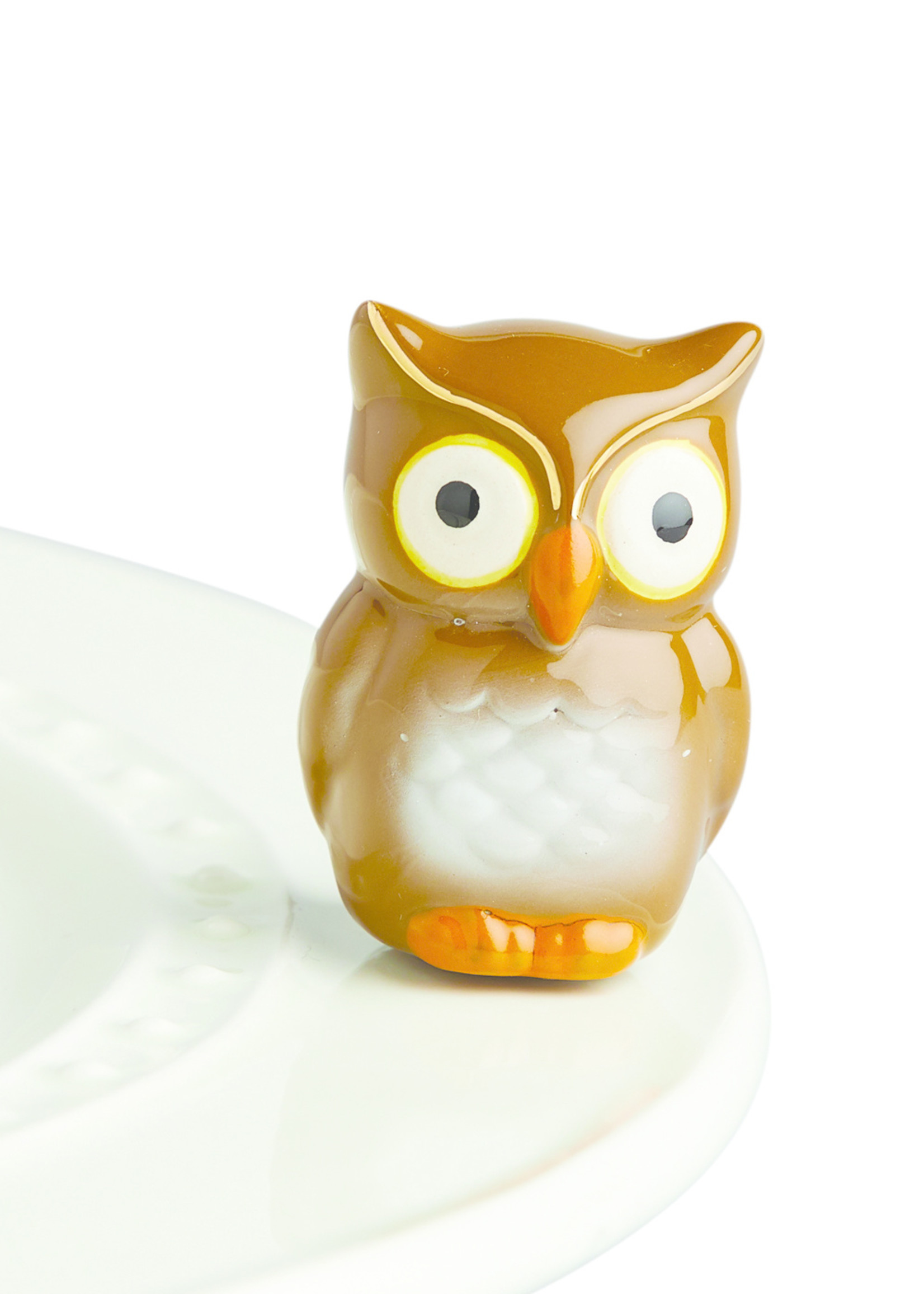 Nora Fleming Serveware BE WHOO YOU ARE