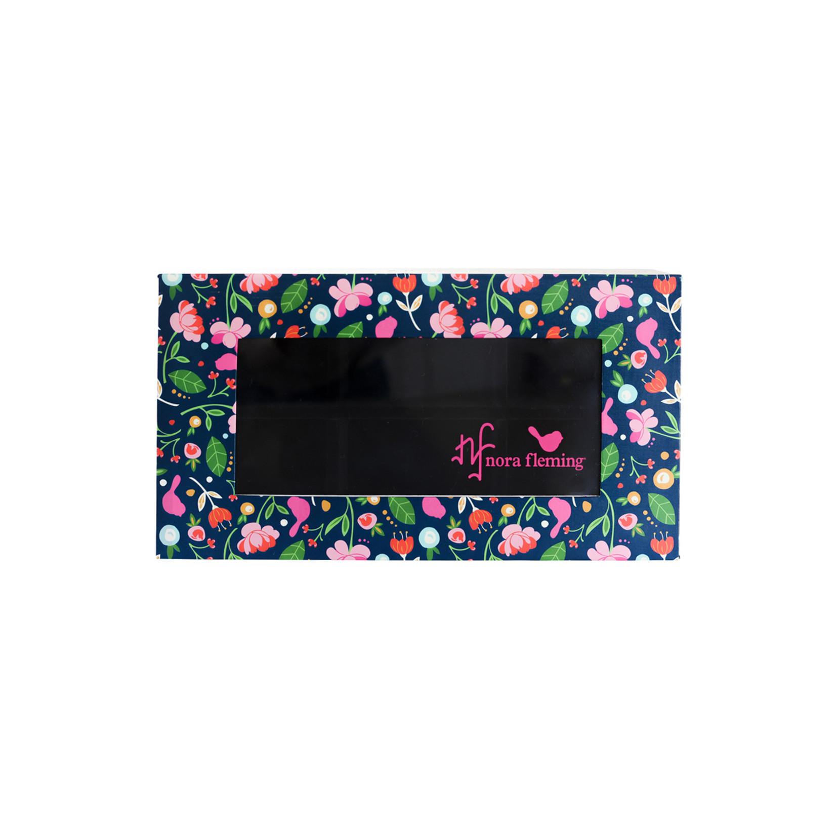 Nora Fleming Serveware FLORAL 6 KEEPSAKE BOX