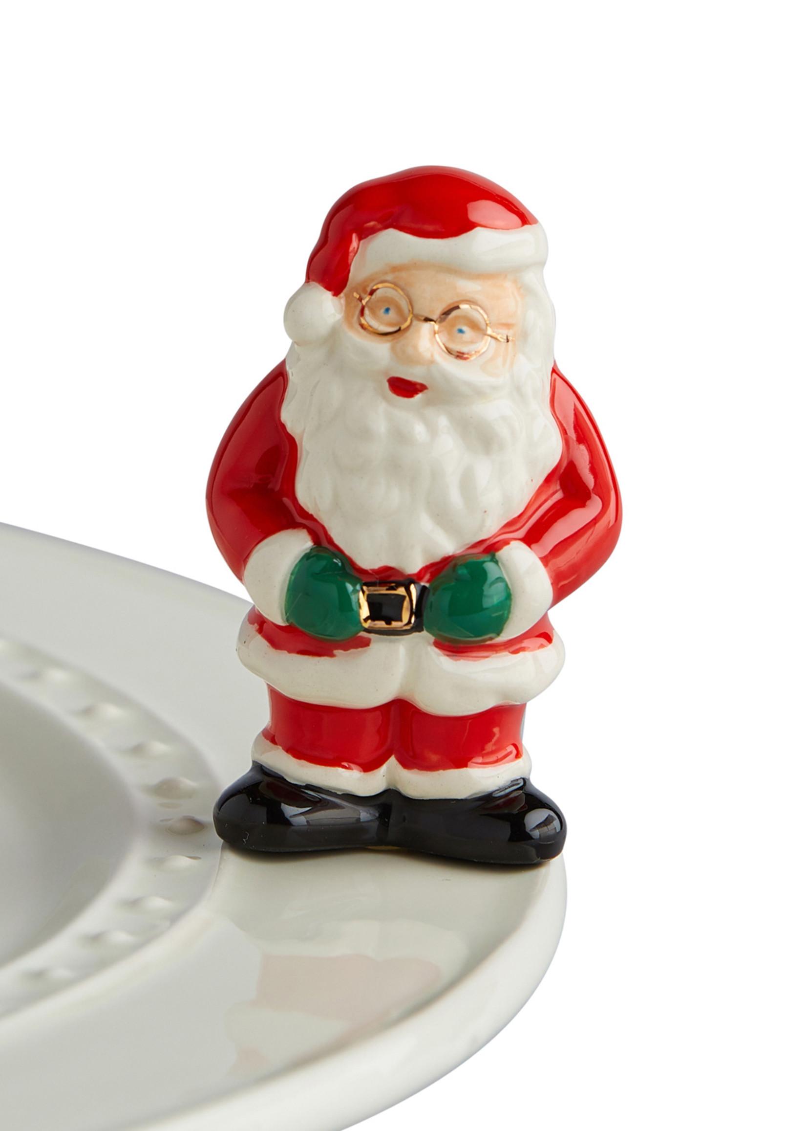 Nora Fleming Serveware FATHER CHRISTMAS