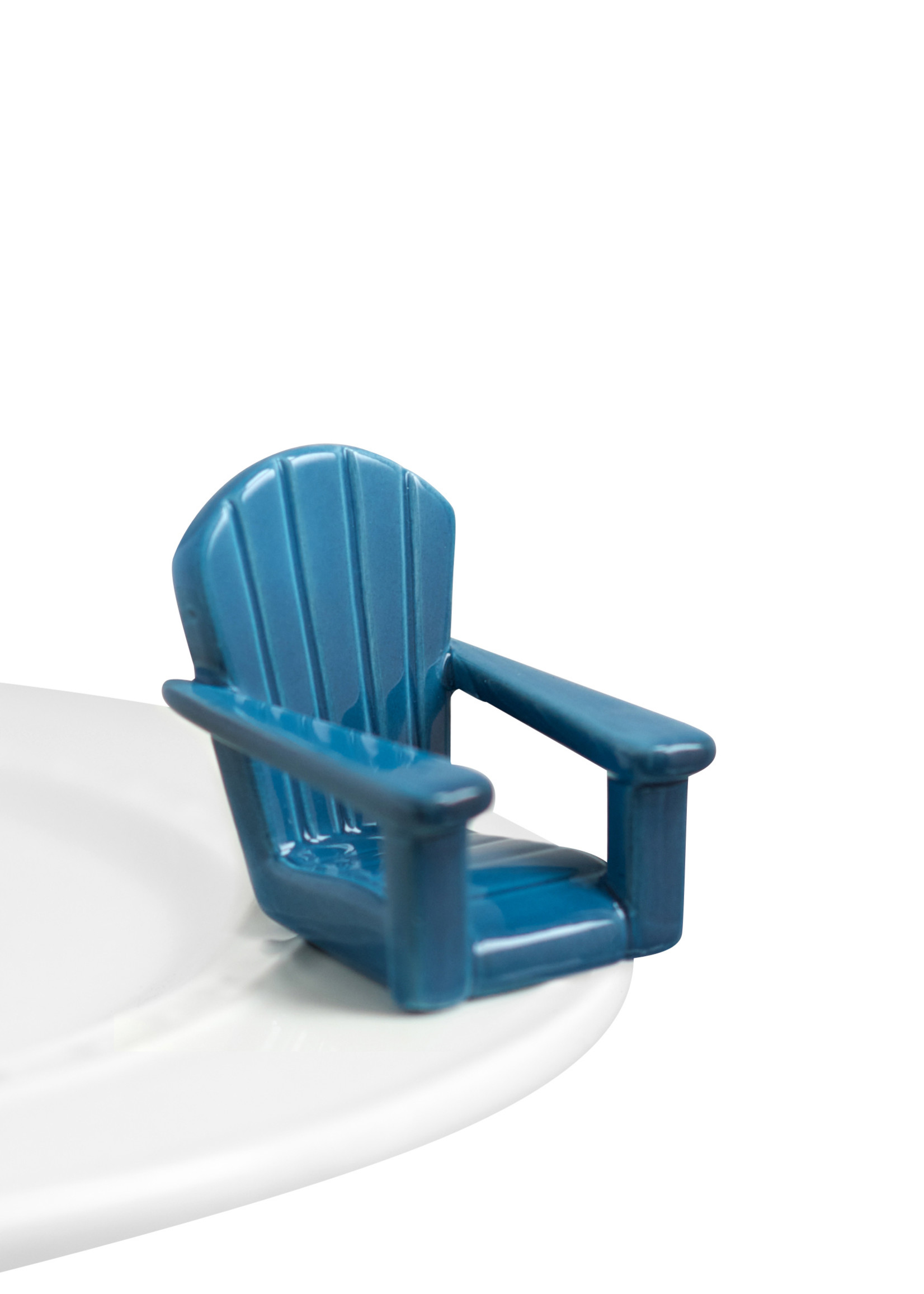 Nora Fleming Serveware CHILLIN CHAIR BLUE
