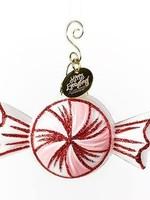 Coton Colors Peppermint Shaped Ornament