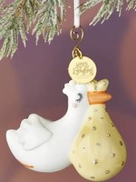 Coton Colors Flying Stork Shaped Ornament