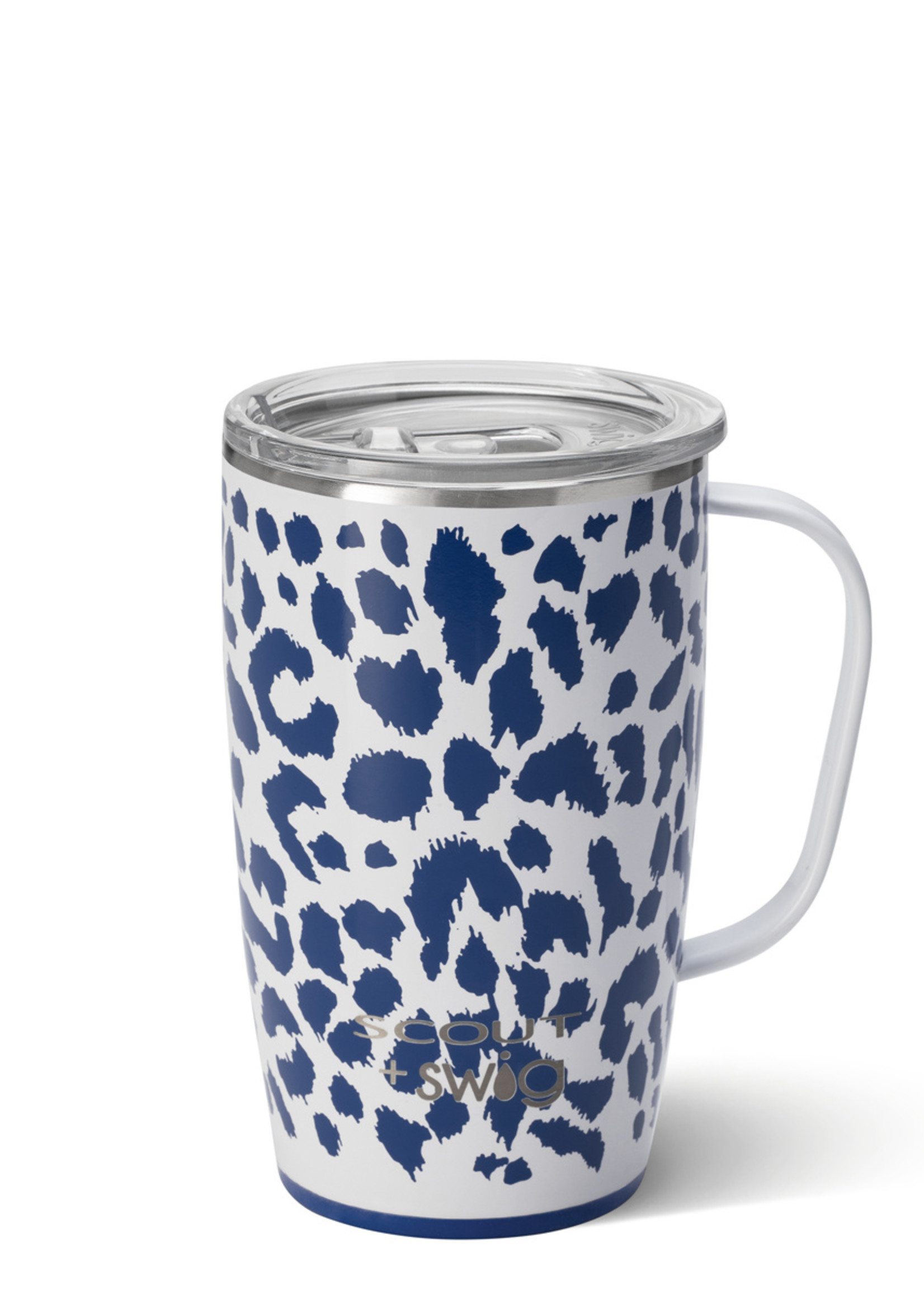 Swig Leopard Noir Mug 18oz