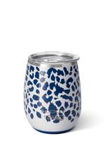 Swig Leopard Noir Stemless Cup 14oz