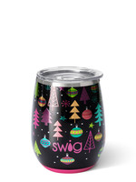 Swig Merry & Bright Stemless Cup 14 oz