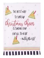 Glory Haus CHRISTMAS CHEER TEA TOWEL