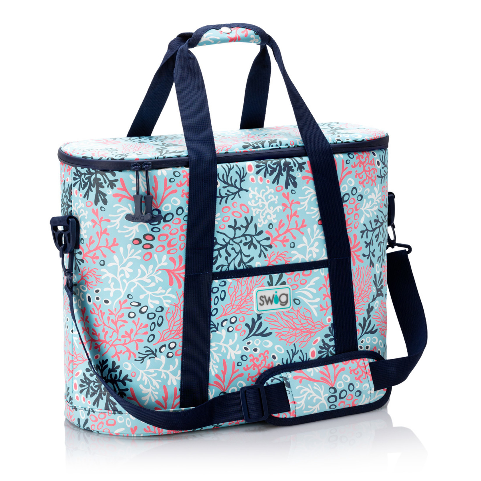 Swig CORAL ME CRAZY SWIG FAMILY COOLER TOTE
