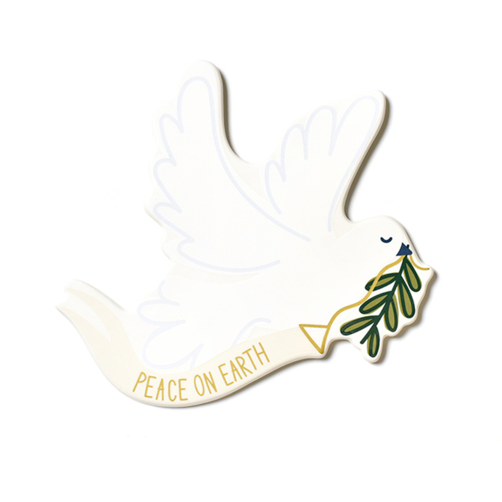 Happy Everything White Dove Big Attachment