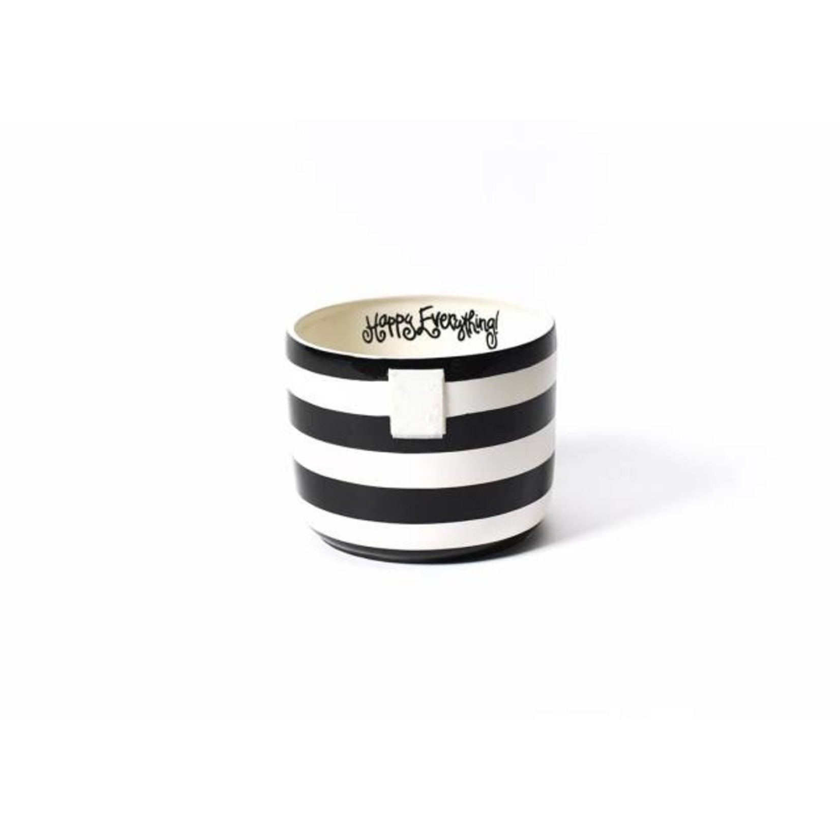 Happy Everything Black Stripe Happy Everything Mini Bowl